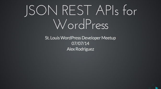 July Developers Meetup – Mobile Apps and WordPress